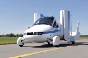 Flug Autos, die sie kaufen können - Terrafugia -4. Bild, mit eingeklappten Flügeln
