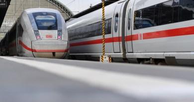 DB - ICE 4 aussen - Zug, Züge, Bahn