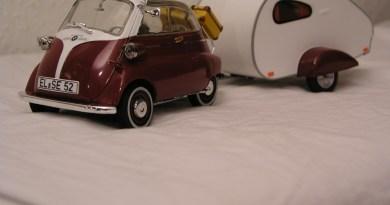 Artega und der Karo - Isetta, BMW Automodelle