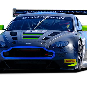 Aston Martin bei GT-Series - Beitragsbild