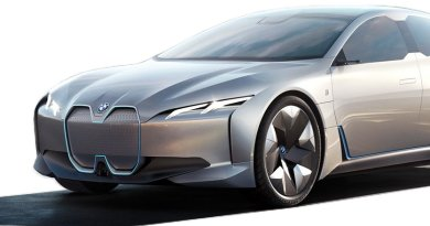 BMW iVision Dynamics - i4 -sauber ausgeschnitten - - E-Auto, Elektroauto-Foto BMW