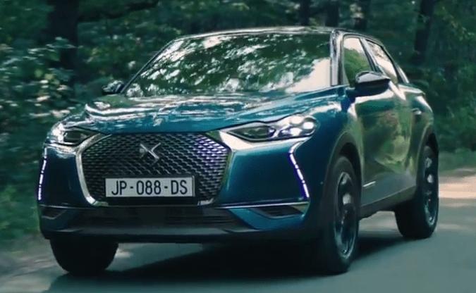 Fiat Chrysler geht nach Polen -   DS 3 Crossback - von vorne links - Screenshot aus Video von DS - citroen - Elektroauto - E-Auto - Foto DS