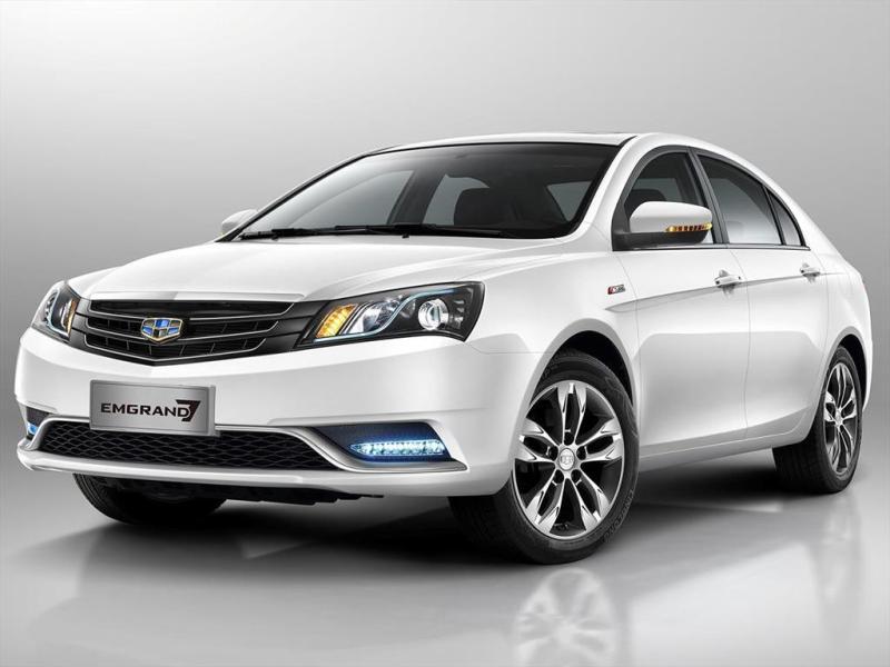 Schon wieder Geely - jetzt mit Foxconn-  Geely Emgrand EV - - China Auto
