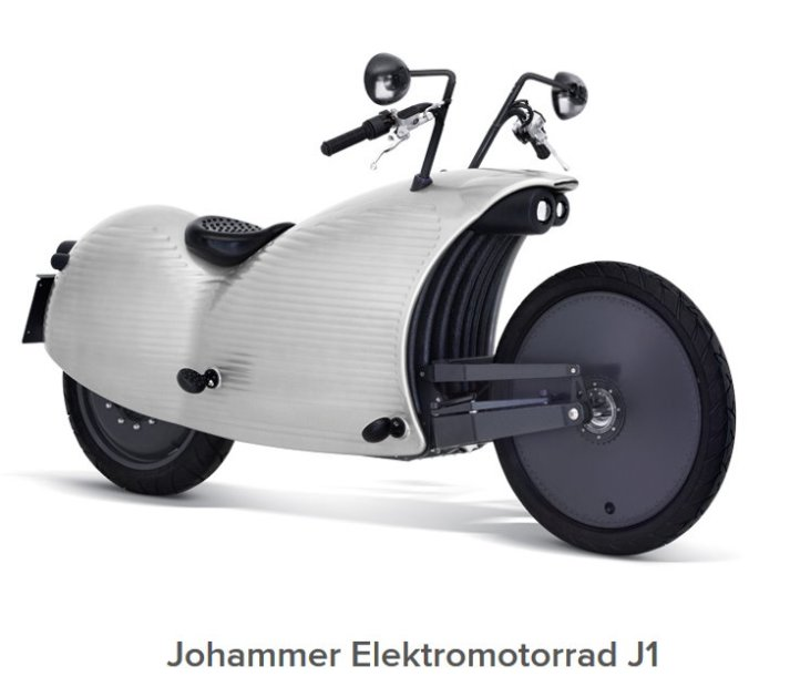 Johammer J1 - -Elektromotorrad, E-Motorrad, Elektro Motorrad