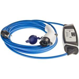 Ladekabel - Adapter für Elektroauto Schuko Stecker auf Typ 1 ---6A-8A-10A-13A einstellbar --- Für viele japanische Elektroautos wie z.B. Nissan Leaf, Honda Jazz, Mitsubishi Outlander, Opel Ampera