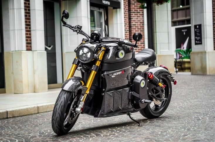 Lito Sora - Elektromotorrad - E-Superbike schräg von vorne - Elektromotorrad, E-Motorrad, Elektro Motorrad