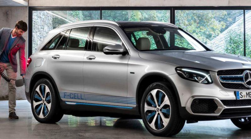 Mercedes - GLC F-Cell - Brennstoffzelle, Wasserstoff, Elektroauto, E-Auto - Foto Mercedes