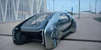 Renault - EZ Go , EZ Ultimo, links von vorne, Concept car, Tolle Studie - Foto Renault