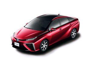 Toyota Mirai - Rot metallic - Brennstoffzelle, Wasserstoff - Foto Toyota