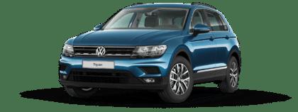 VW Diesel Betrug: Vorlage an den EuGH lässt VW zittern - VW Tiguan, Comfortline, 2.0 TDI SCR - Diesel Euro 6d-Temp - blau metallic - 2.0l, 150 PS, 110 kW, 6 Gang oder 7 Gang Doppelkupplungsgetriebe - von Seite links - Ab 36.075 € - Foto VW (2)