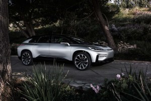 Faraday Future, Elektroauto FF 91 - Foto Faraday