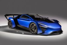 Techrules AT 96 TREV supercar concept studio, China, Concept Auto, Turbine + Elektro Antrieb, at 2016 Geneva Motor Show (2)