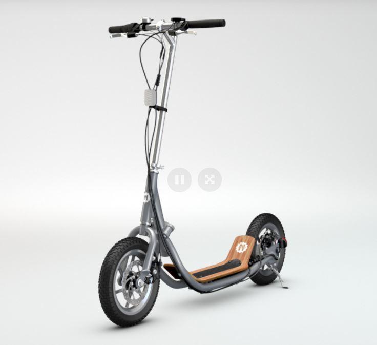 Elektro-Tretroller-Welle. - E-Tretroller Nito N1e - 720 € , Foto Einfallsreich