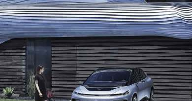 Faraday Future FF91, Elektroauto - soll bis Ende 2019 ausgeliefert werden - Foto Faraday Future