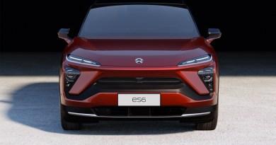 NIO ES6 -von vorne - Farbe rot - Foto NIO