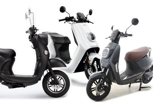 Drei Elektro-Roller unter 3.000 € - Drei Elektro Roller bis 45 kmh unter 3.000 € - unu, Niu, Vässla