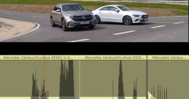 Mercedes Geräuschkulisse DEMO - Collage für Beitragsbild emoove.net - Warngeräuschgenerator jetzt Pflicht bei Elektroautos