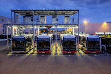 Daimler Buses errichtet in Mannheim zentrale Stromtankstelle für den eCitaro.
