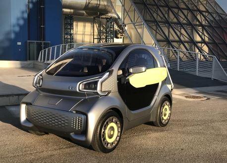 e.Go Konkurrent aus dem 3D-Drucker. XEV - Ital.-chinesische Kooperation - Auto aus dem 3D Drucker - Foto XEV