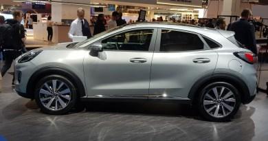 IAA 2019 - Elektroautos - Ford Puma Ecoboost Hybrid.