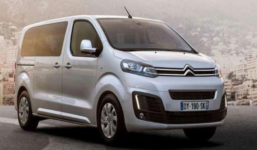 Megafusion von FCA und PSA - Elektrischer Citroen Van Space Tourer Elektro Van