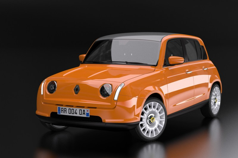 Elektrischer Renault R 4