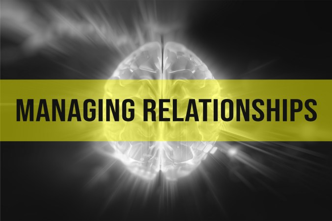 Emotional Intelligence or EI and managing relationships.