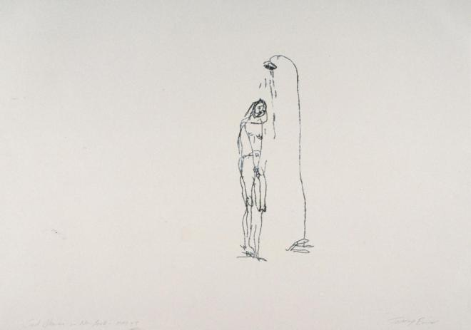 Sad Shower in New York 1995 Tracey Emin born 1963 Presented by the Patrons of New Art (Special Purchase Fund) through the Tate Gallery Foundation 1999 http://www.tate.org.uk/art/work/P11567