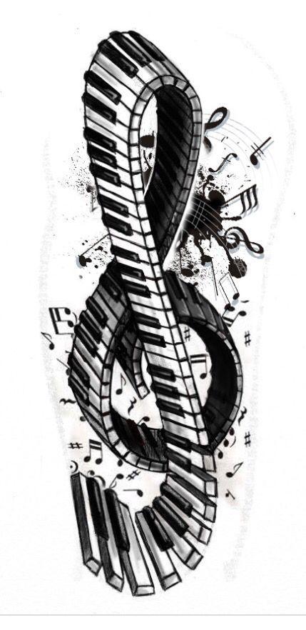 ce201d384df32d67dbca82c9764f3a17--music-tattoos-music-artwork