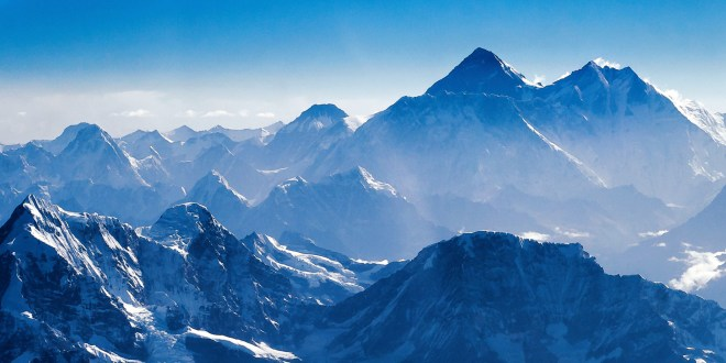 Everest, up close