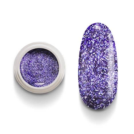 Cg217 Violet Flakes Gel Uv Led per laccature su Gel e Acrigel