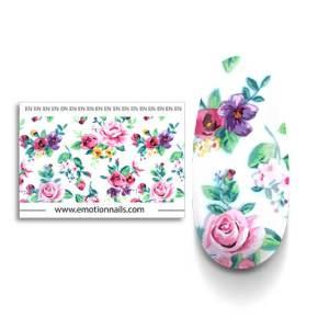 Art Foil Peonia composto da una striscia floreale lunga 99 cm