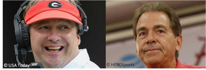 010518-02 Kirby Smart & Nick Saban