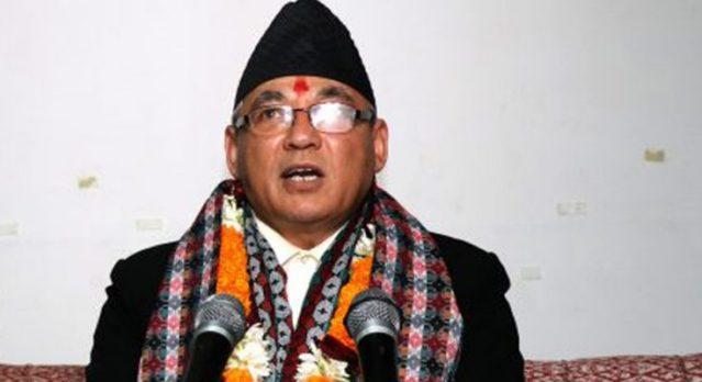 Home-minister-badal-ram-bahadur-thapa