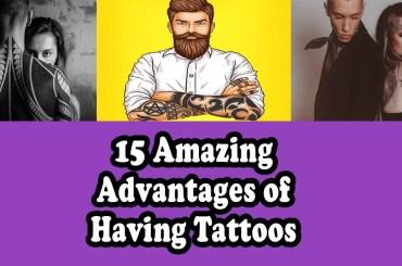 advantages of tattoos