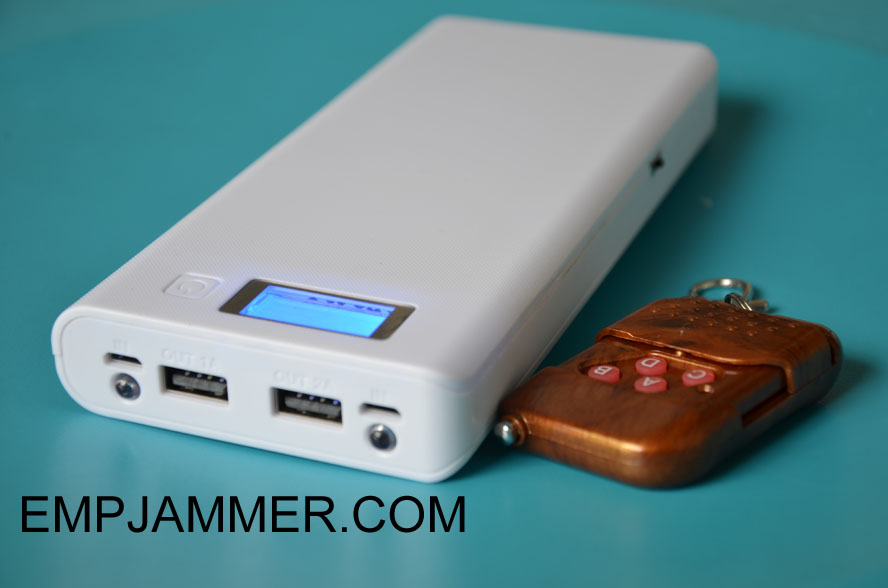 2018 4 Bands Emp Jammer Power Bank Type Jammer Slot