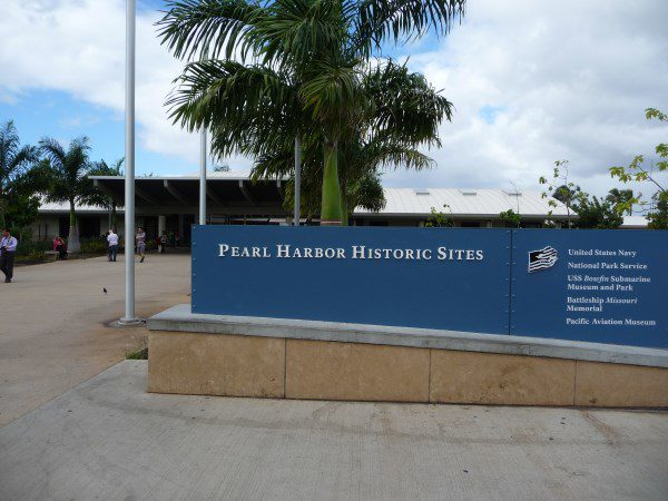 Pearl Harbor sign