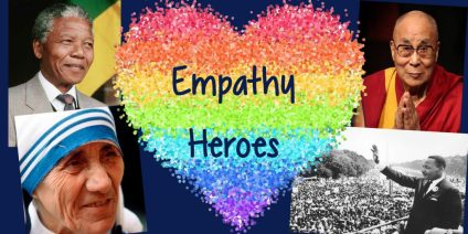 Collage of Empathy Heroes