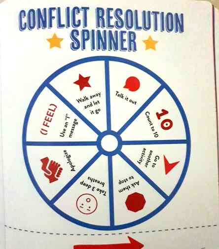 Conflict resolution spinner
