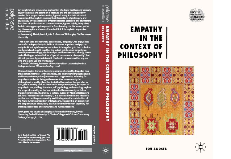 Cover Art by Alex Zonis for Empathy in the Context of Philosophy