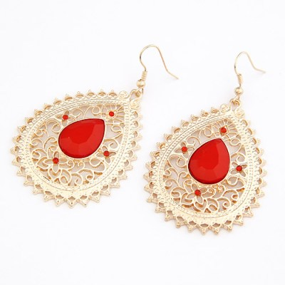 Marybella earrings in red