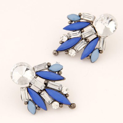 Evalina earrings blue