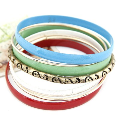 Boho range of coloured bangles empayah brisbane