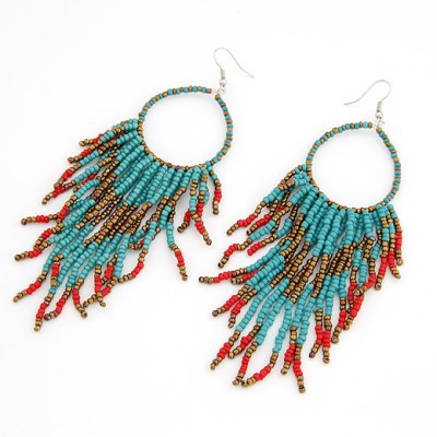 anushka-beaded-earring-blue-and-red