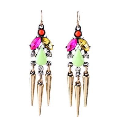 Candy bullet earring