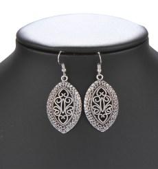 Ayan silver earrings