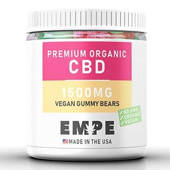 CBD Vegan Gummy Bears 1500mg
