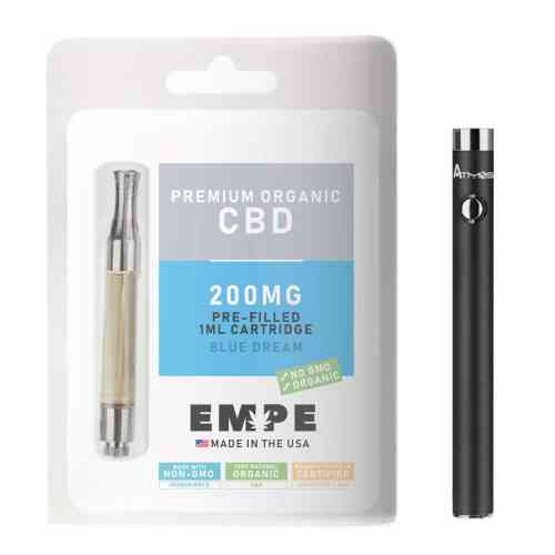Cbd Cartridge Premium Organic - Blue Dream + Free Battery