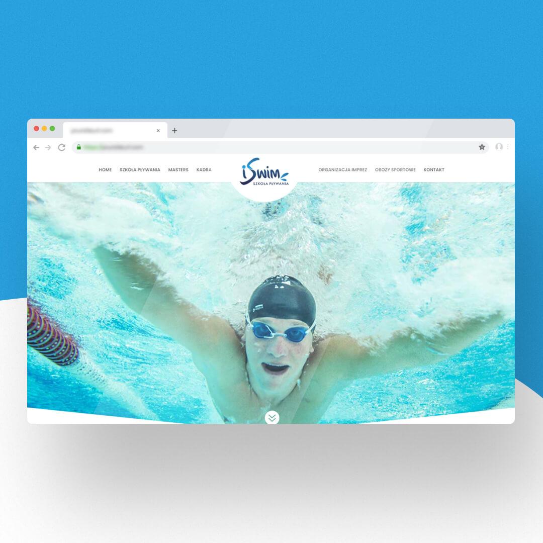 Grafika przedstawia zrzut ekranu przeglądarki internetowej. Widzimy stronę internetową iswim.bialystok.pl