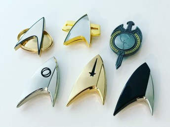 My QMx Star Trek Combadge collection. 🖖🏻🤓
